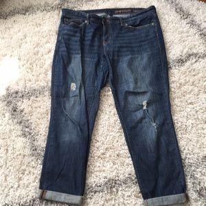 Gap boyfriend distressed jeans